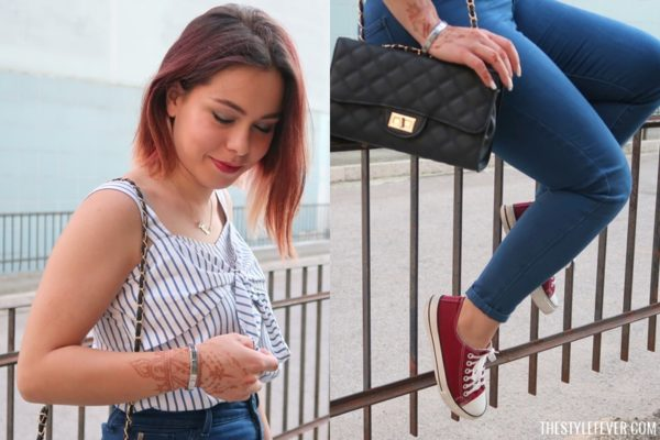 Outfit di fine estate, fashion blogger Mina Masotina