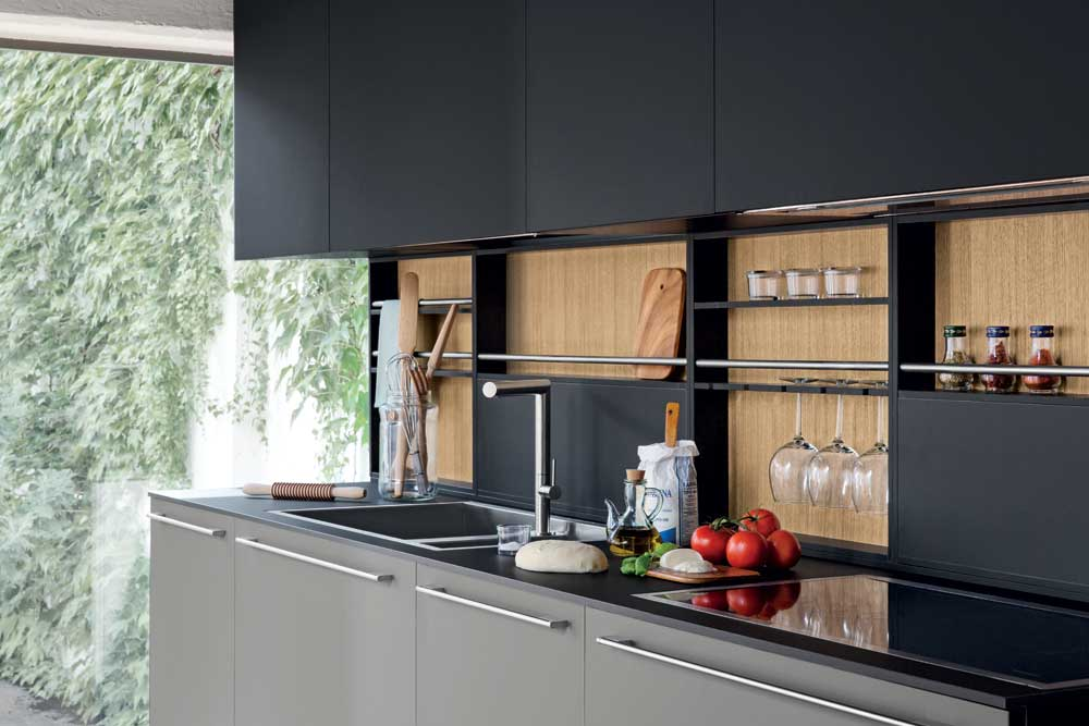 La cucina contemporanea Polaris Life Living