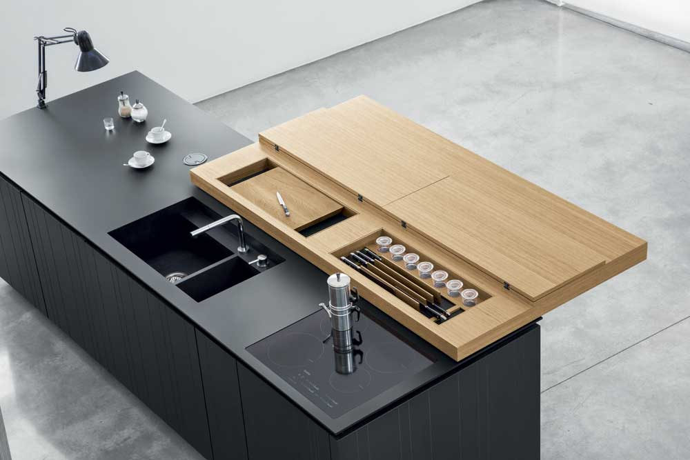 La cucina contemporanea Polaris Life Wood