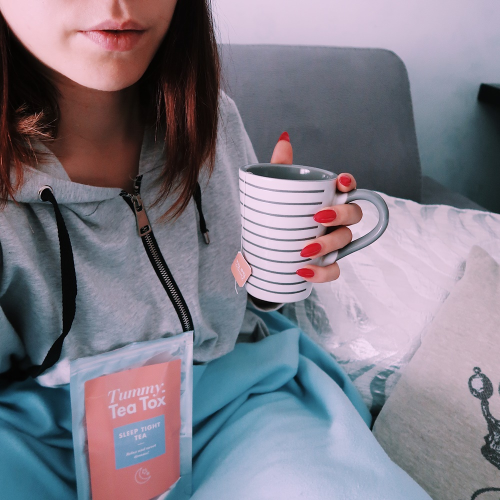 Netflix & chill con Sleep Tight, Tummy Tea Tox opinioni